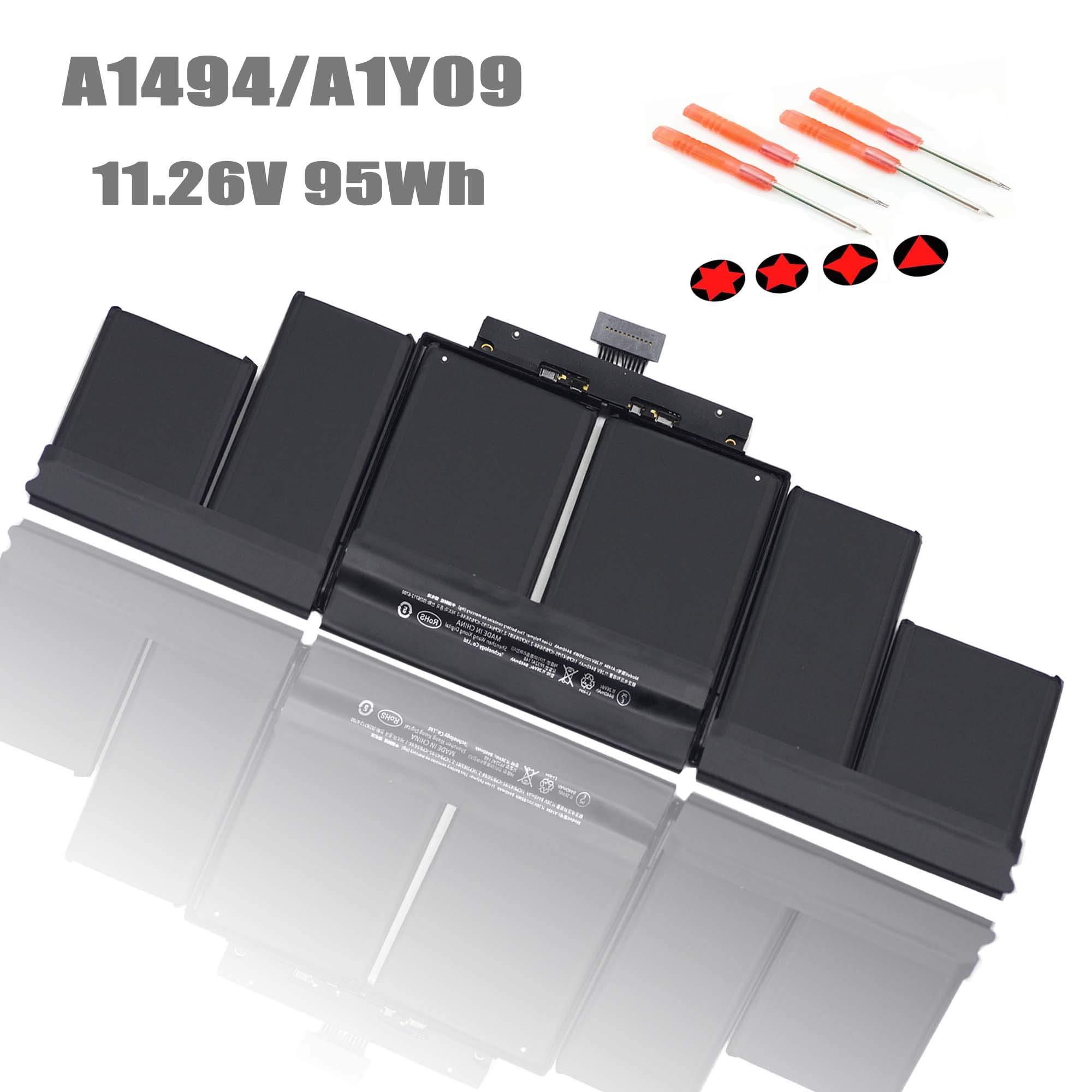Bateria A1494 11.26V 95Wh MacBook Pro 15 A1494 A1398 Retina