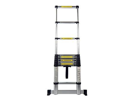 King ladder aluminium teleskopleiter in verschiedenen größen