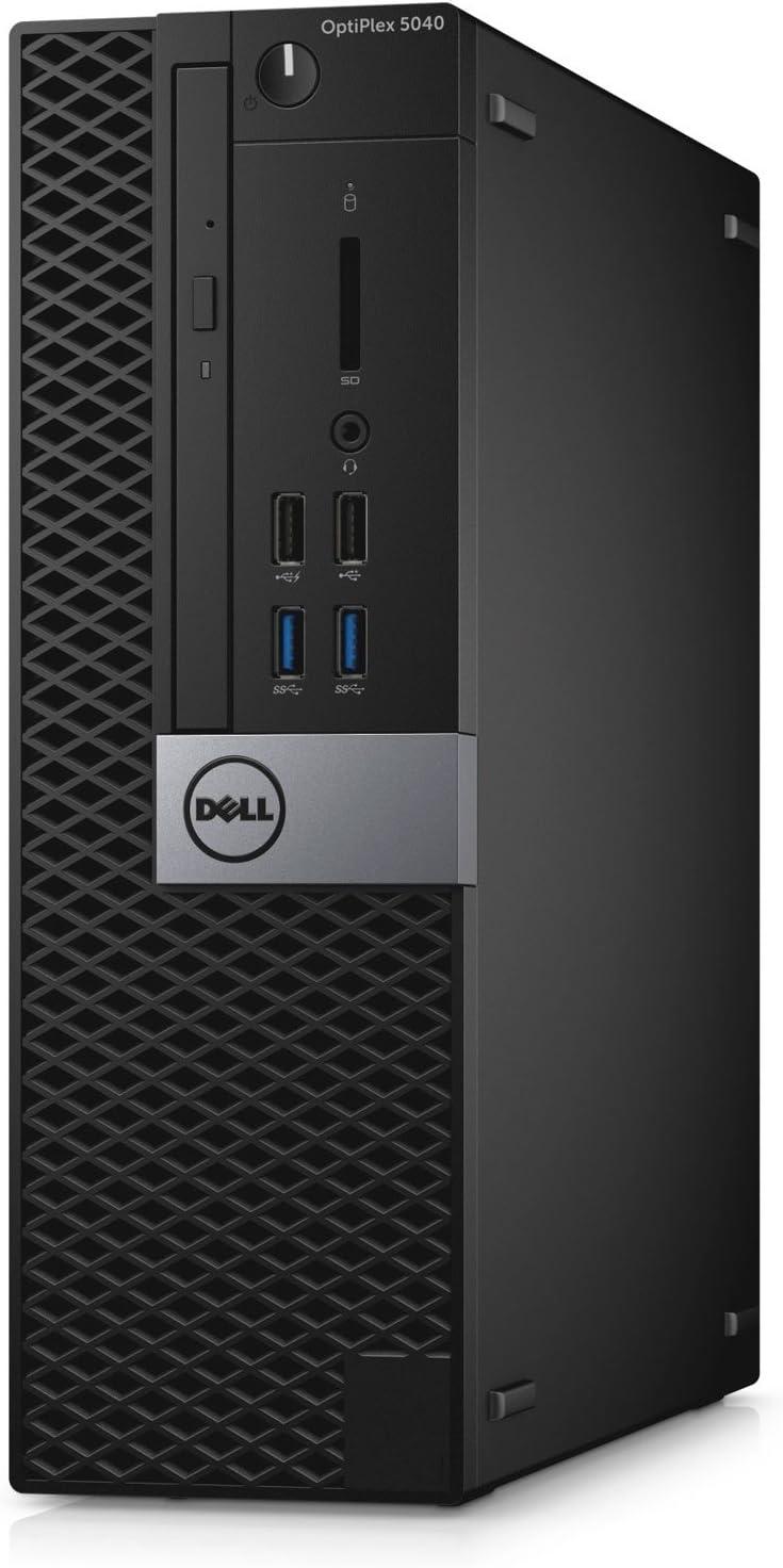 Dell OptiPlex 5040 Small Form Factor (SFF), Intel Core i7-6700, 8 GB RAM, 256 GB SSD, Windows 10 Pro, (Renewed)
