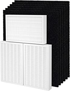 Fil-fresh Filter R with Pet Pure Treatment, HPA300 True HEPA Value Combo Pack Compatible with Honeywell Air Purifier