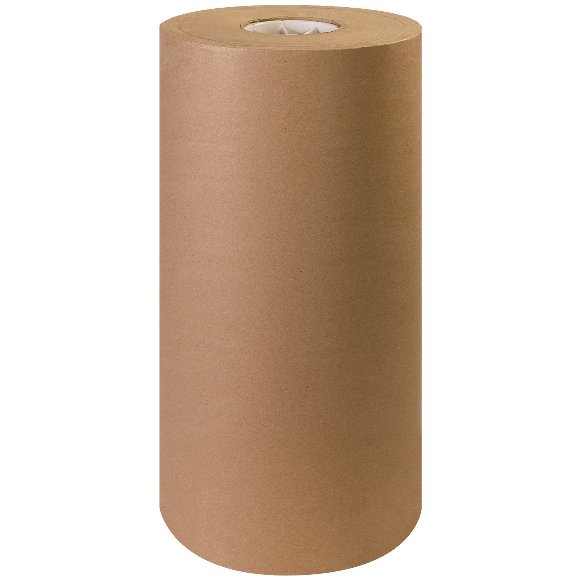 Aviditi KP1840 Fiber 40# Paper Roll, 900' Length x 18'' Width, Kraft by Aviditi