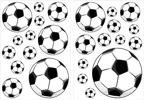 dekodino® Pegatina de pared balones Juego de pegatinas 25 piezas ...