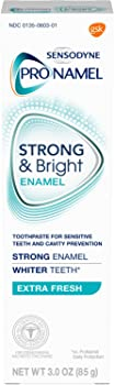 Sensodyne Pronamel Strong & Bright Whitening Enamel Toothpaste