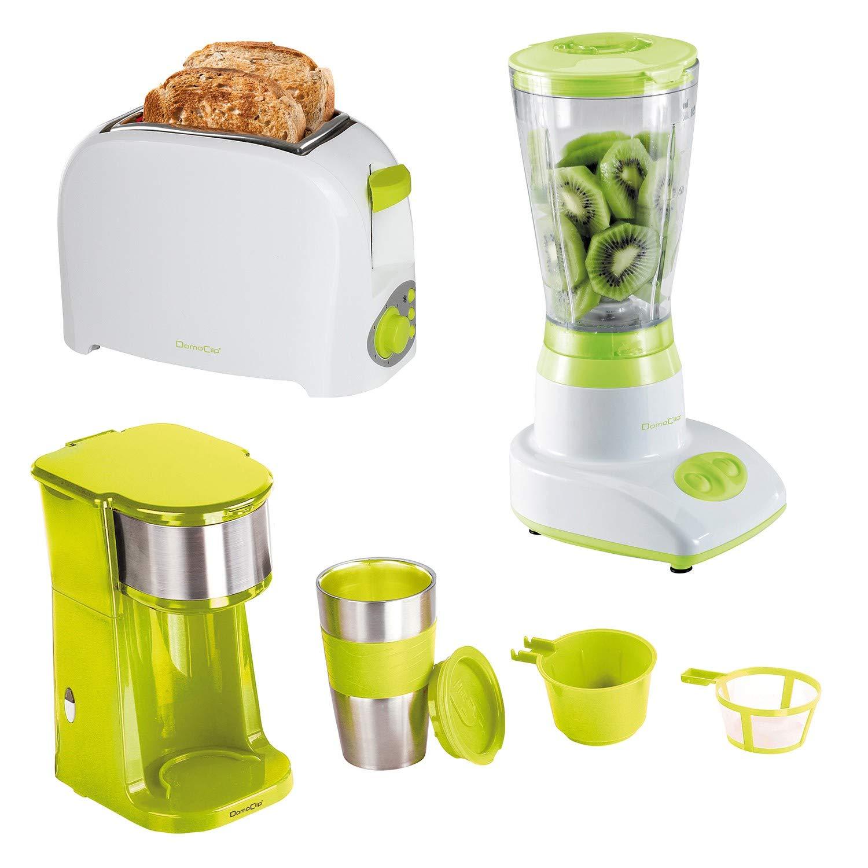 Cafetera + taza + Tostadora + batidora licuadora: Amazon.es: Hogar