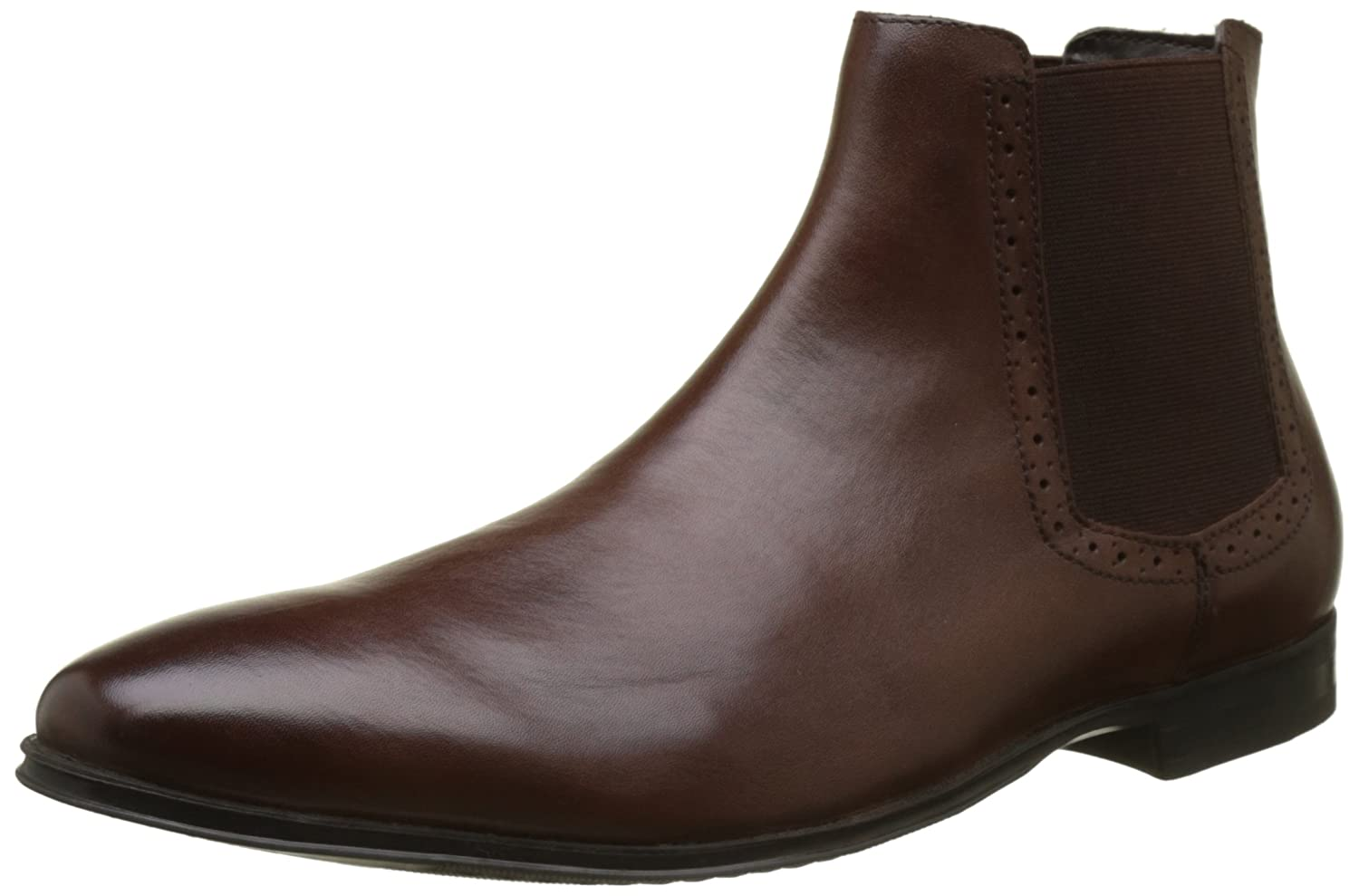TALLA 44 EU. New Look Leather Chelsea, Botas Hombre
