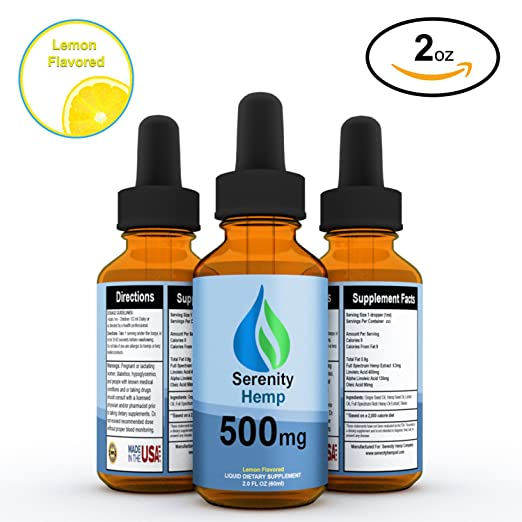 Product thumbnail for Serenity Hemp Oil