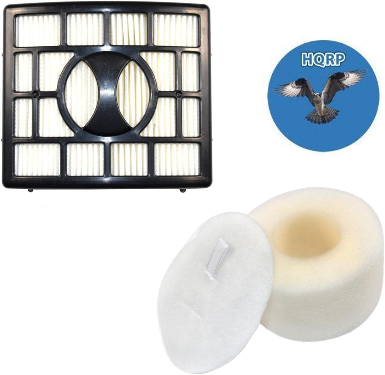 HQRP Filter Kit Compatible with SharkRotator NV800 NV800W NV801 NV802 NV803 UV810 Powered Lift-Away Speed Vacuum Cleaner (HEPA+ Foam & Felt) Plus Coaster