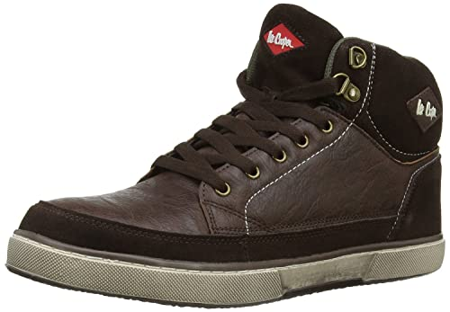Lee Cooper Mens Safety Lightweight Trainer Boot Steel Toe Cap Resistant  Midsole Padded Ankle Collar Anti-Slip Rubber Work Shoe Unisex Workwear  Stylish ... abc073aba