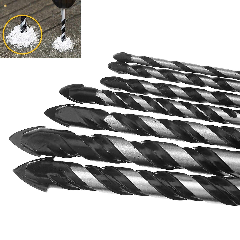 Negro Almencla 5 Unidades Tornillos de Nivelaci/ón para Muebles Pies de Ajustable de Acero Regulables para Silla Estante Mesa M10 M12 M16 M20 M8x80 D50