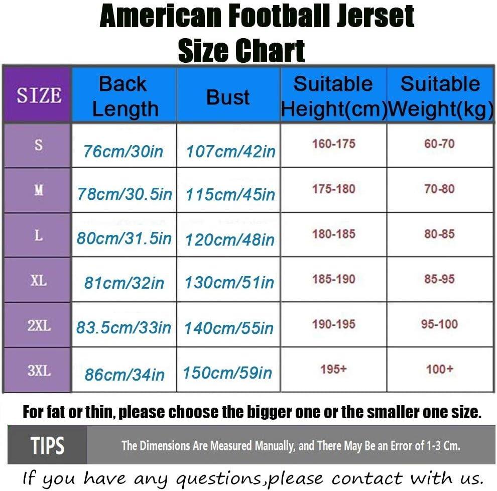 c/ómoda Camiseta Deportiva para Hombre Drew Brees # 9 Camiseta de f/útbol Americano Camiseta de Rugby New Orleans Saints 9# Sudadera de Manga Corta Bordada