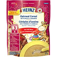 Heinz Oatmeal Cereal with Apple & Cinnamon, 227g (Pack of 6)