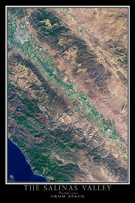 Amazon.com: Terra Prints Salinas Valley California Satellite ... on solar map of california, travel of california, sky map of california, forecast of california, detailed map of california, aerial photograph of california, earth map of california, traffic map of california, education map of california, entertainment map of california, city of california, street view of california, military map of california, wi-fi map of california, food of california, large map of california, humidity of california, atlas map of california, hotels of california, topographic map of california,