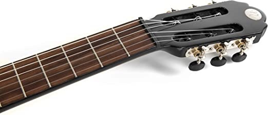 NAVARRA special dark moon NV142, guitarra clásica 4/4, negro ...
