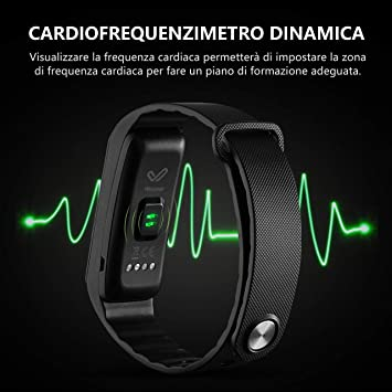 OMorc Activity Tracker Cardio impermeable IP68 Fitness ...
