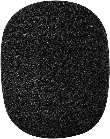 Large Foam Mic Windscreen Mxl Audio Technica Other Large Microphones Black