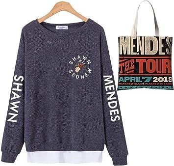 Shawn Mendes Suelto Mantener Caliente Camisa de Entrenamiento ...