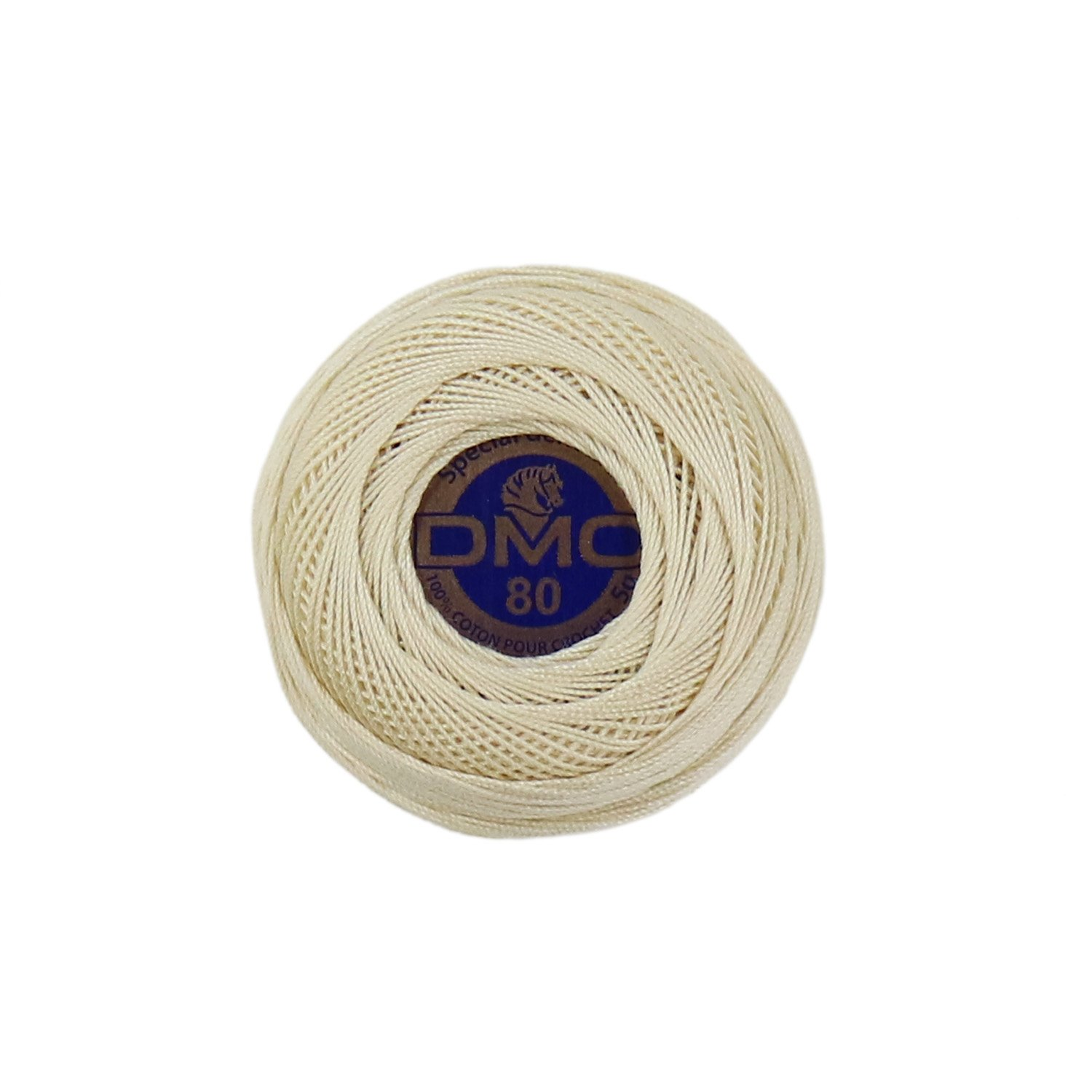 DMC Brilliant Tatting Cotton Sz 80 Ecru DMC19-80