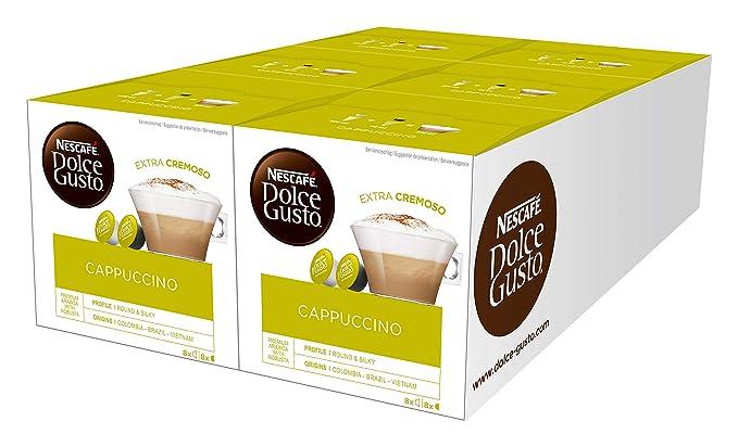 Martinelli Group Confezioni Srl.Nescafe Dolce Gusto Cappuccino Cappuccino 6 Confezioni Da 16 Capsule 96 Capsule
