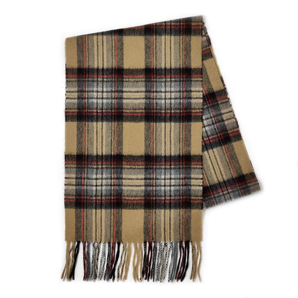 Kiltane of Scotland 100/% Pure Cashmere Soft and Warm Tartan Scarf Designed in Scotland