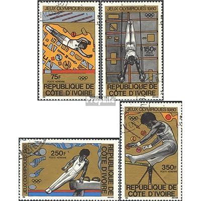 côte d'ivoire 649-652 (complète.Edition.) 1980 jeux olympiques Moscou (Timbres pour les collectionneurs)