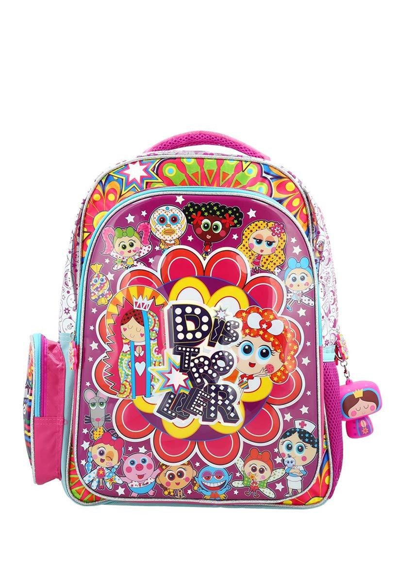 by Distroller Beautiful Colors Ksimerito Distroller BACKPACK Nerlie Neonate BabyDistroller World Themed School Backpack