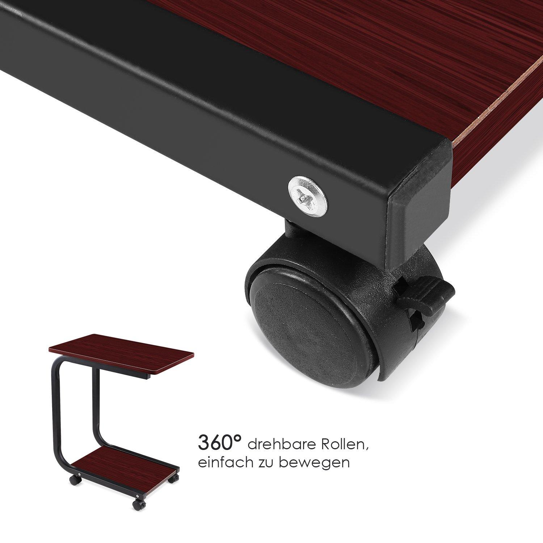 Amazon.de: HOMFA Laptoptisch U-Form Notebook Tisch PC Tisch Notebook ...
