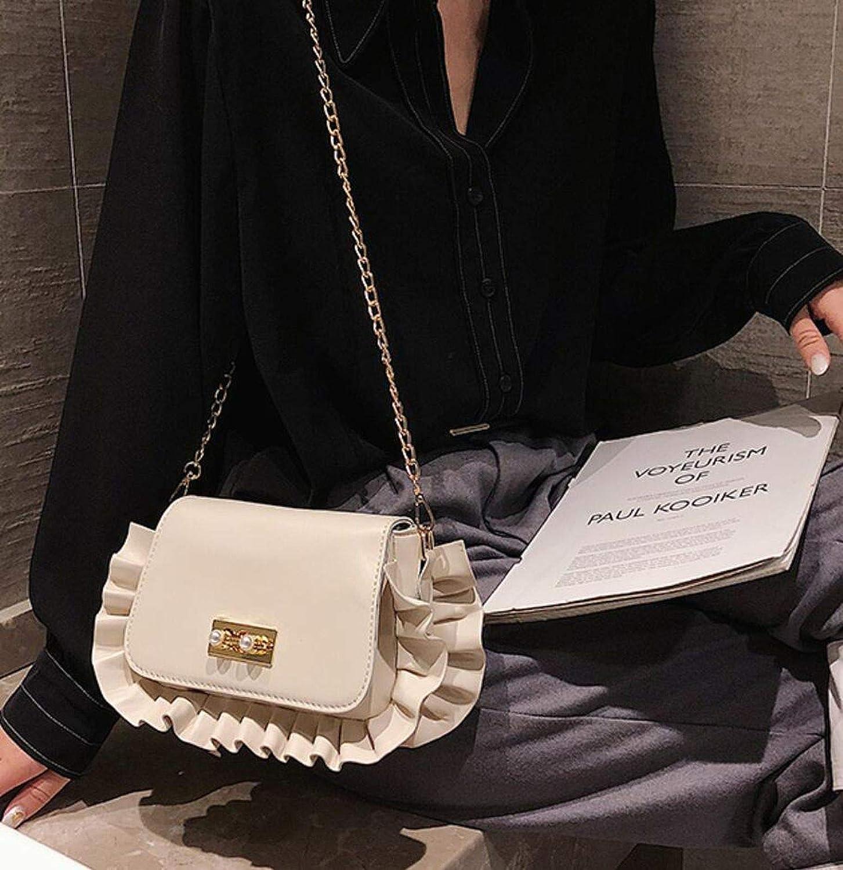 Luxury Square bag 2019 PU Leather Handbag Lock Chain Shoulder Messenger bag