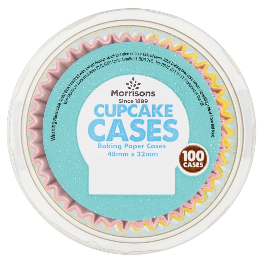Morrisons Kitchen Appliances Morrisons Spotty Cupcake Cases 100 Cases Amazoncouk Prime Pantry