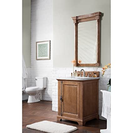 Delicieux Single Vanity Cabinet In Driftwood