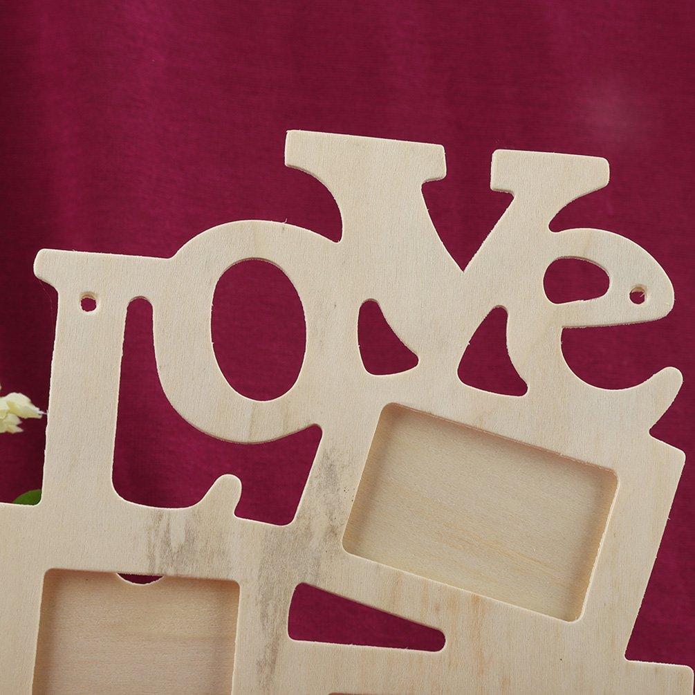 3xDa.Wa Cadre photo peint en bois bricolage