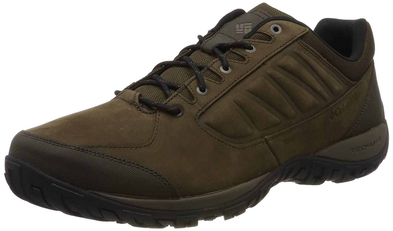 Marron (Cordovan, Mud) 43.5 EU Columbia Ruckel Ridge Plus, Chaussures de Randonnée Basses Homme