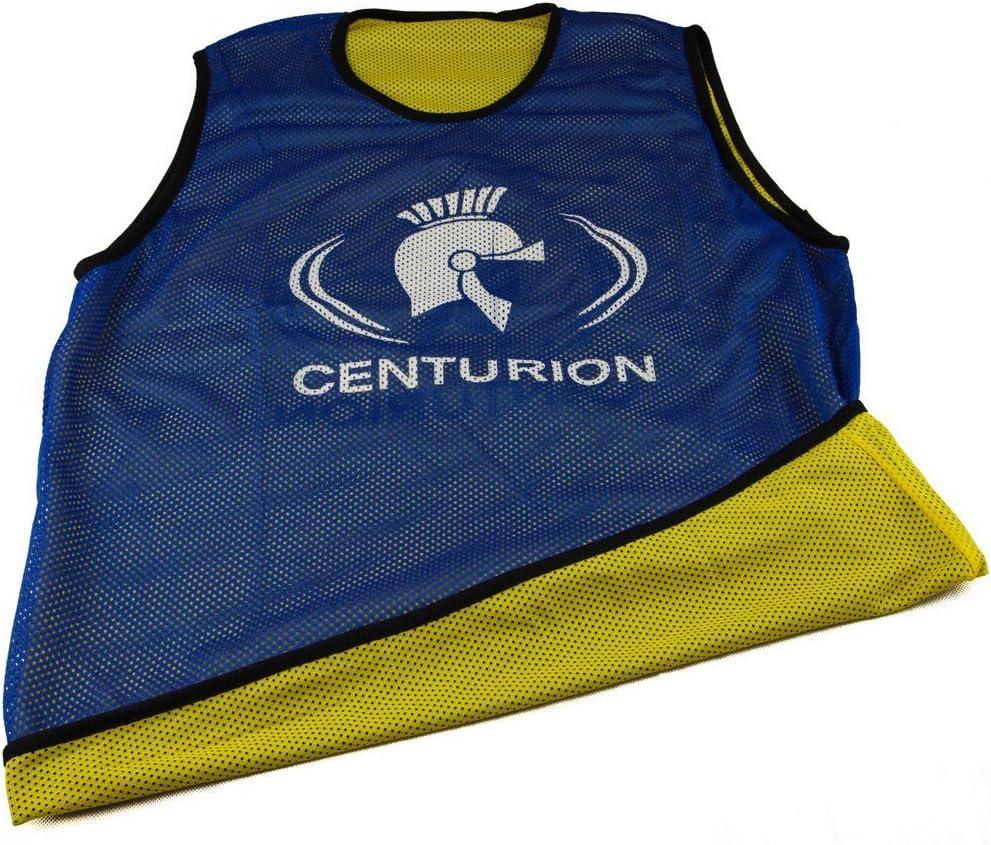Blue//Yellow Large CENTURION Mesh Reversible Training Bib