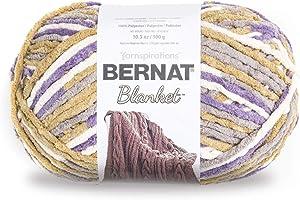 Bernat Lilac Blue Blanket Big Ball Yarn (10185)