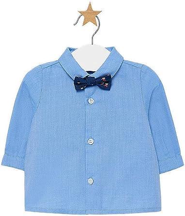 Mayoral, Camisa para bebé niño - 2102, Azul: Amazon.es: Ropa y accesorios