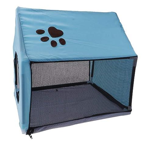 SGerste - Caseta de Perro de Tela para Interiores y Exteriores, Desmontable, diseño de