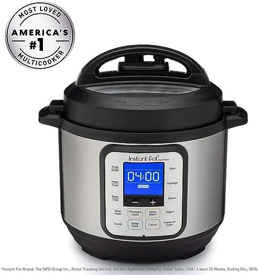 Use Programmable Pressure Cooker Instant Pot Duo Mini 3 Qt 7-in-1 Multi