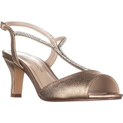 71145cfe9bf Caparros Womens Delicia Open Toe Formal T-Strap Sandals