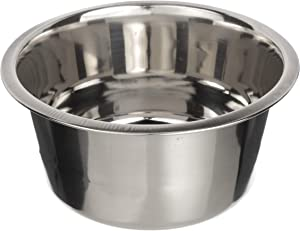 Neater Pet Brands Stainless Steel Dog and Cat Bowls - Neater Feeder Deluxe or Express Extra Replacement Bowl (Metal Food and Water Dish) (5 Cup)