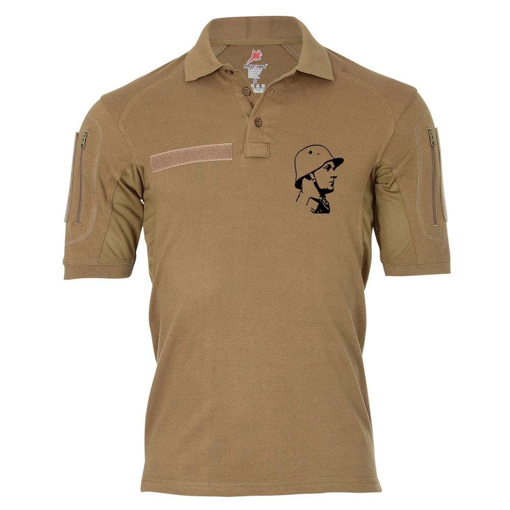 Tactical Poloshirt Alfa - Deutscher Soldat Bundeswehr Militär Kamerad Diensthemd Sportshirt  19335