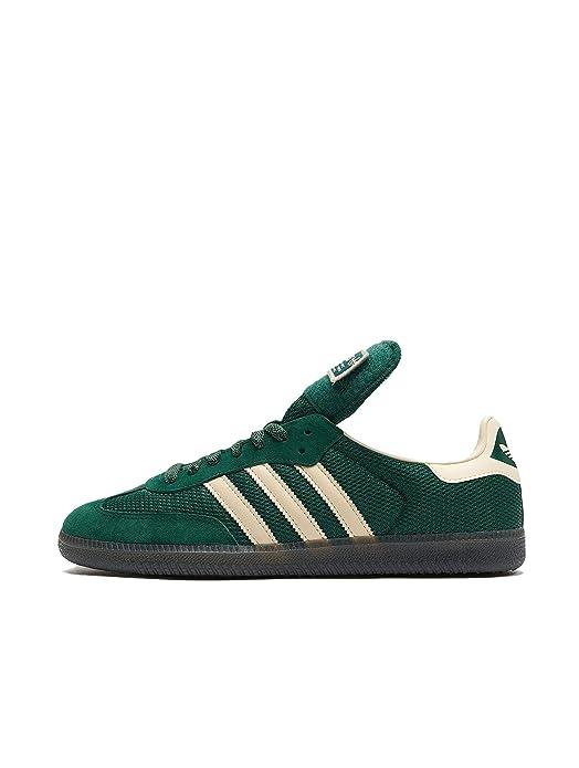 adidas Originals Samba OG Schuhe grün mit weißen Streifen