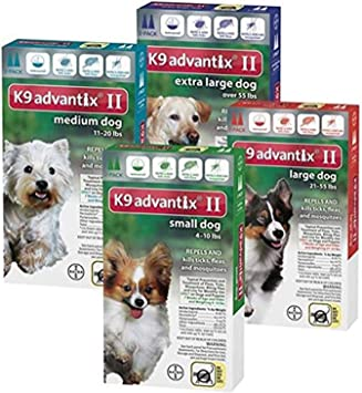 K9 Advantix II Flea, Tick and Mosquito Prevention for Large Dogs