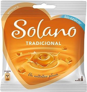 Solano - Caramelos Sin Azúcar Tradicional (30 unidades) 90 g - [Pack de 6]: Amazon.es: Alimentación y bebidas