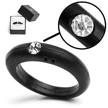 Black Wedding Ring For Women 15 Inspirational Silicone Rhinestone Diamond Ring