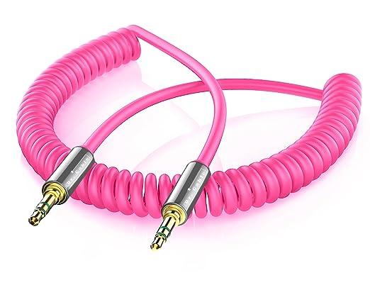 17 opinioni per Act Cavo Rosa Audio Jack 3.5mm Maschio su Maschio 3,5 mm Connettore, a Spirale