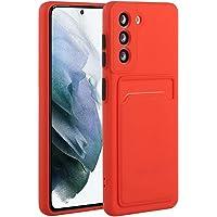 Molg Hoesje voor Samsung Galaxy S21 5G [Screen Protector] Ultradunne Zachte TPU Siliconen Shock Proof Bumperafdekking…