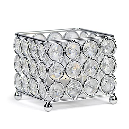 Amazon autai silver crystal candle holder for wedding autai silver crystal candle holder for wedding centerpieces candlesticks birthday party dining table candlelight home decoration junglespirit Image collections