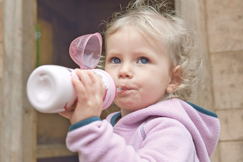 /à partir de 18/mois sans BPA Nuk Flexi Cup 300/ml Tasse avec paille en silicone