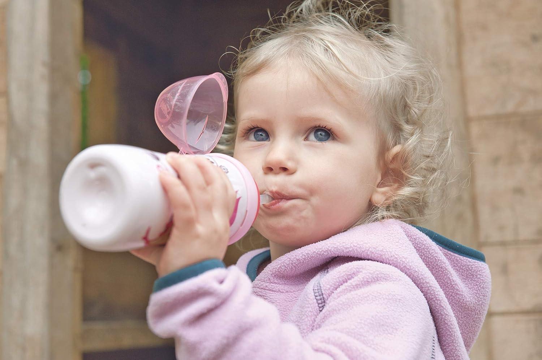 sans BPA 1 pi/èce anti-fuite et incassable papillon NUK 10255421 Flexi Cup avec paille 300 ml /à partir de 12 mois violet