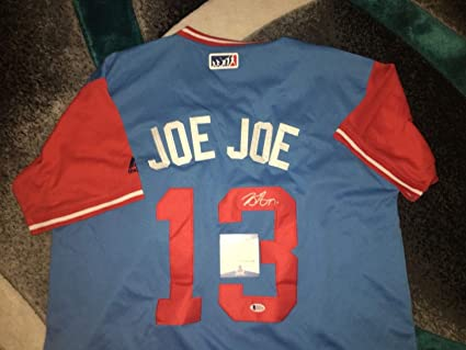 watch e7551 0005d Joey Gallo Autographed Signed Texas Rangers Jersey Players ...