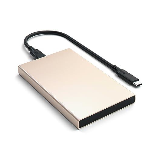 """9 opinioni per Satechi hard disk esterno HDD in alluminio da 2,5"""" USB di tipo C 3.1 Contenitore"""